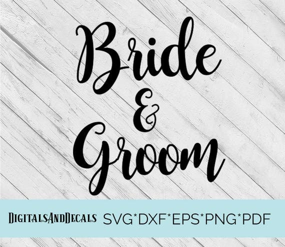 Download Bride and Groom SVG Script SVG, Wedding Font, Svg Fonts ...