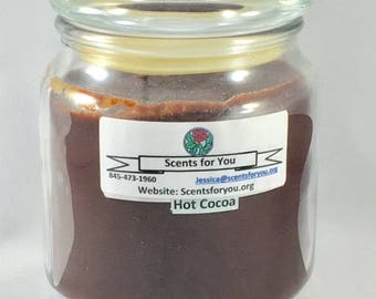 Hot Cocoa Large Candle