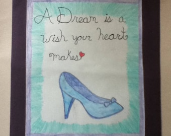 A Dream is a wish your heart makes (illustration)
