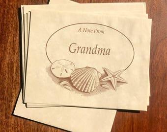 Vintage Notecards Set for Grandma's Desk