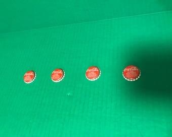 Coca Cola Bottle Cap Button Covers-rare