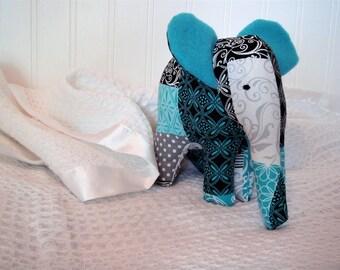 Baby Nursery Decor, Elephant, Baby Gift, Fabric Elephant