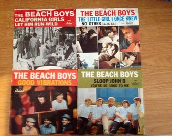 Beach Boys 45's and Covers