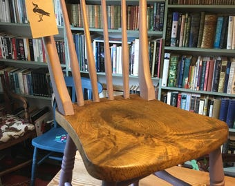 Oak Farmhouse Chair in Lilac