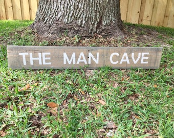 The Man Cave Pallet Sign