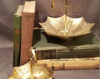 Antique Vintage Brass Umbrellas