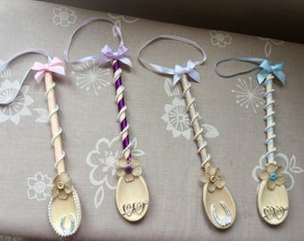 Wooden Wedding Spoon Gift for Bride