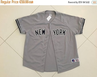 LAST DAY 35% OFF New York Yankees Jersey sz Xl Russell Athletic Gray Away Baseball Mlb