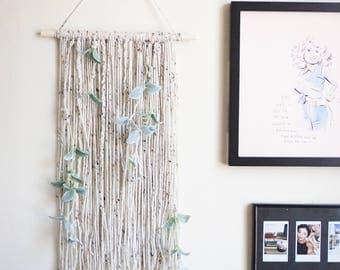 Natural Eucalyptus Wall Hanging