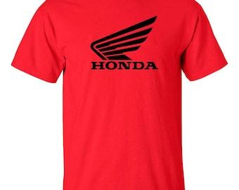 HONDA Motor Wings Racing  T-shirt Size S thru 5XL *FREE SHIPPING*