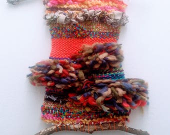 Hand woven wall ornament