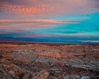 Original fine art photography print - Atacama Sunset