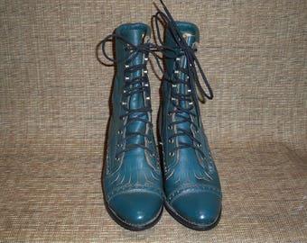 Vintage Capezio Granny boots