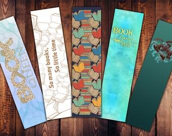 Bookmark set - Book Queen