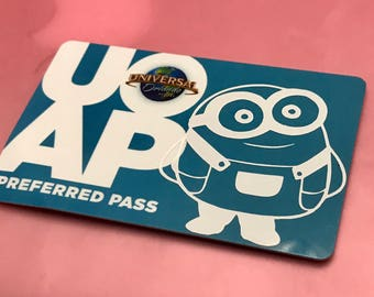 Universal Studios Annual Pass Decals!