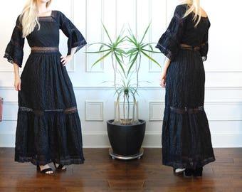 Black Mexican Wedding Dress