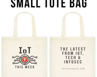 IOT This Week Canvas Small Tote Bag