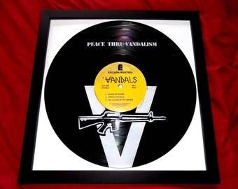 Vinyl Record Frame Etsy