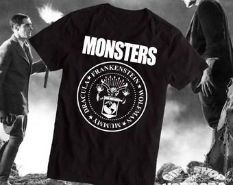 Monsters / Ramones Inspired T-Shirt