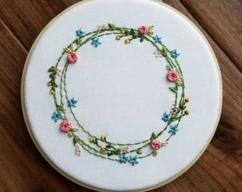 6in Spring Wreath