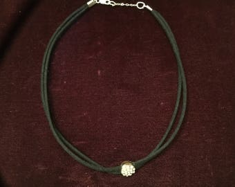 Double Leather Chocker