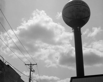 Water Tower, Hebron, IL, August 2017