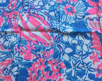 """Lilly Pop Pop Fabric 18"""" Square or By The Yard"""