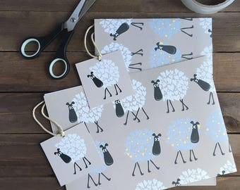 Snuggly Sheep Gift Wrap