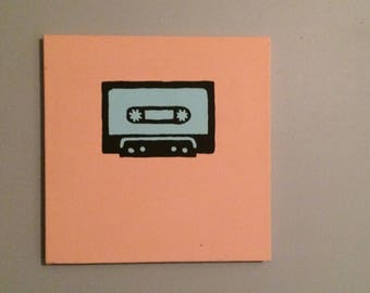 Cassette Tape Painting
