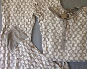 Smooth Patterned Rayon Sleep Set