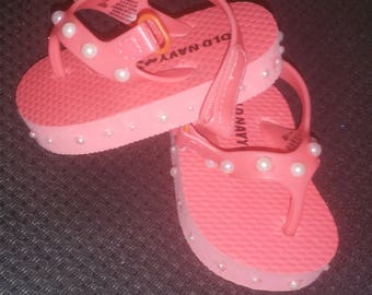 Baby Pearl Flip flop-Infant