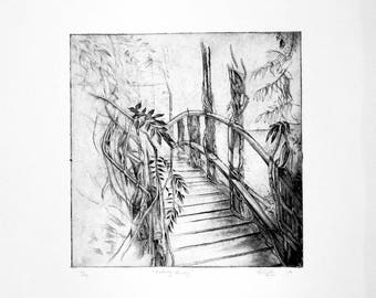 Fading Away (2017) - Etching