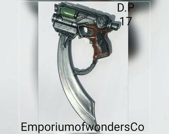 The gun blade... Customized Nerf gun