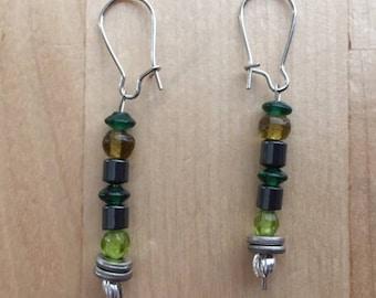 Green Fiend Earrings