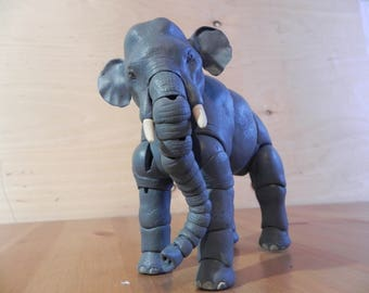 BJD Elephant, art doll, bjd animals