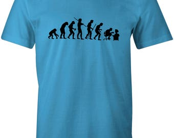 Evolution of Geek Cool Retro Children's T-Shirt