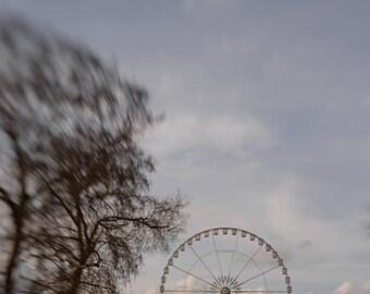 Impressionist Paris, Place de la Concorde, Paris Winter Light, Tuileries Ferris Wheel, Gary Brewster