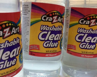 Clear glue 16oz