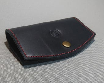genuine leather sunglasses case HAND MADE