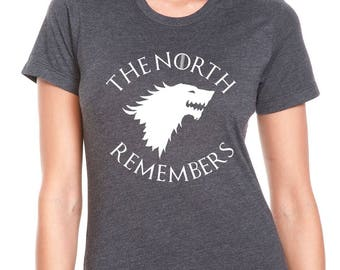 "Game Of Thrones ""The North Remembers"" Womens Jr. Fit T-Shirt"