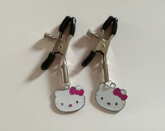 Hello Kitty Nipple Clamps