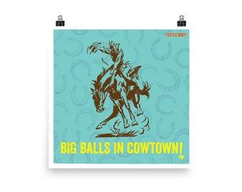 Big Balls Poster