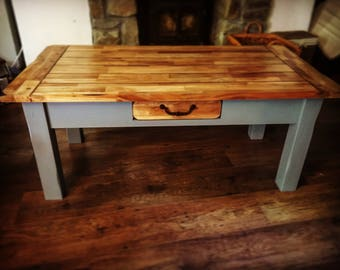 Lovely Handmade Upcycled Coffee Table Shabby Chic