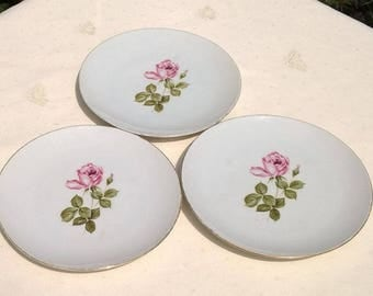Set of three Schumann Arzberg Germany Cakeplates, Dessertplates