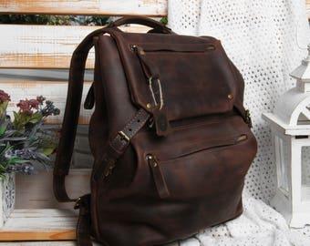 Travel backpack,Travel rucksack,Leather travel backpack,Leather travel rucksack,Leather rucksack travel,Leather backpack travel,Brown travel