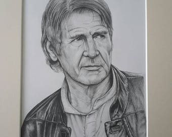 Harrison Ford Han Solo 16x12 Limited hand signed print