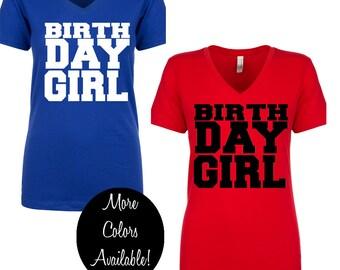 birthday girl shirt, adult birthday shirt