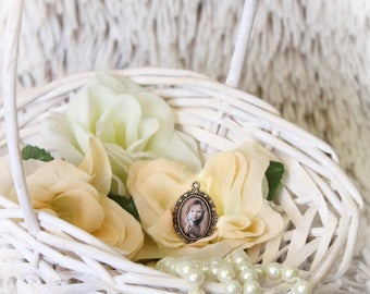 antique jewellery charms with its own photo