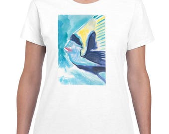 Bandit Fish By Paintsarahpaint - Ladies Shirt