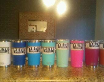 Yeti - AUTHENTIC 20 oz Rambler